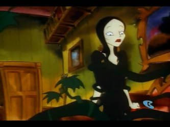 Morticia Wrapped in vines 2