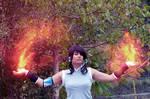 Avatar Legend of Korra fire bending