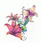 humming bird flower