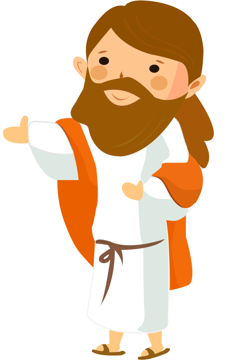 jesus and peter clipart - photo #19
