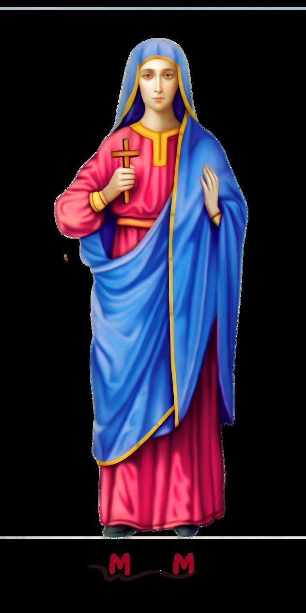 Saint Anysia PNG by mrmr96