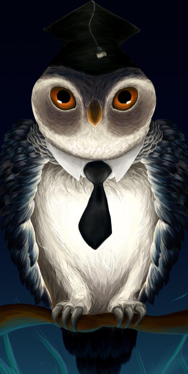Night owl graduate by telepaats