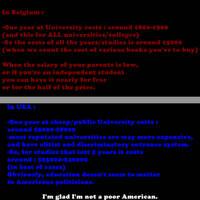 Education Be/USA by NurIzin