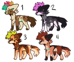 Free canine adopts (CLOSED)