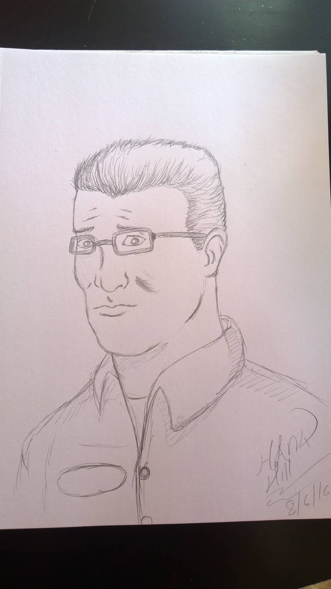 Hank Hill Submission for SideArc YouDraw activity