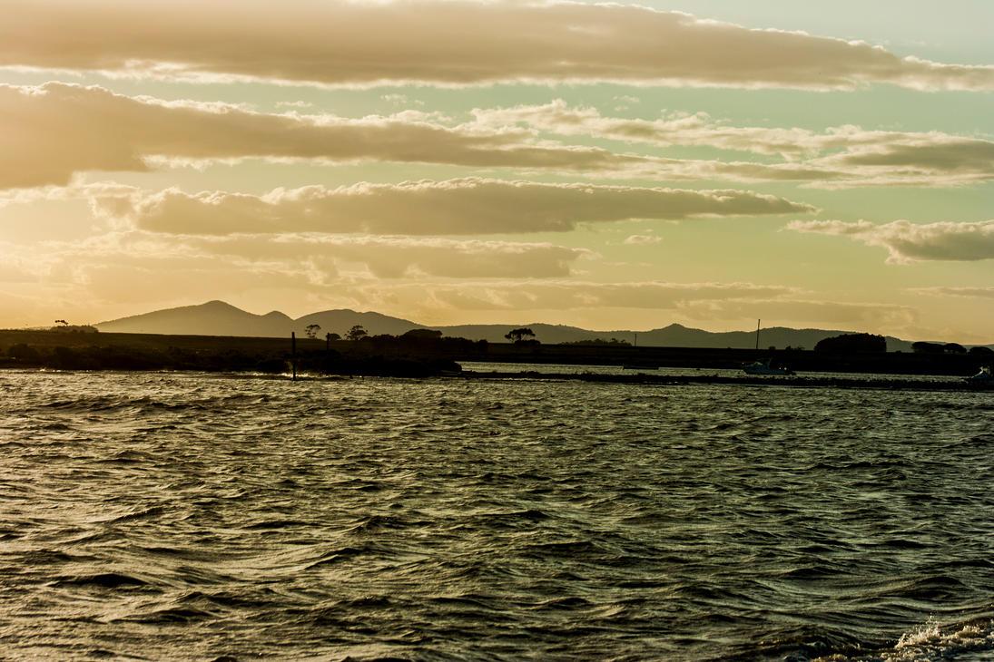 Where the mountains meet the sea by TomHorton100