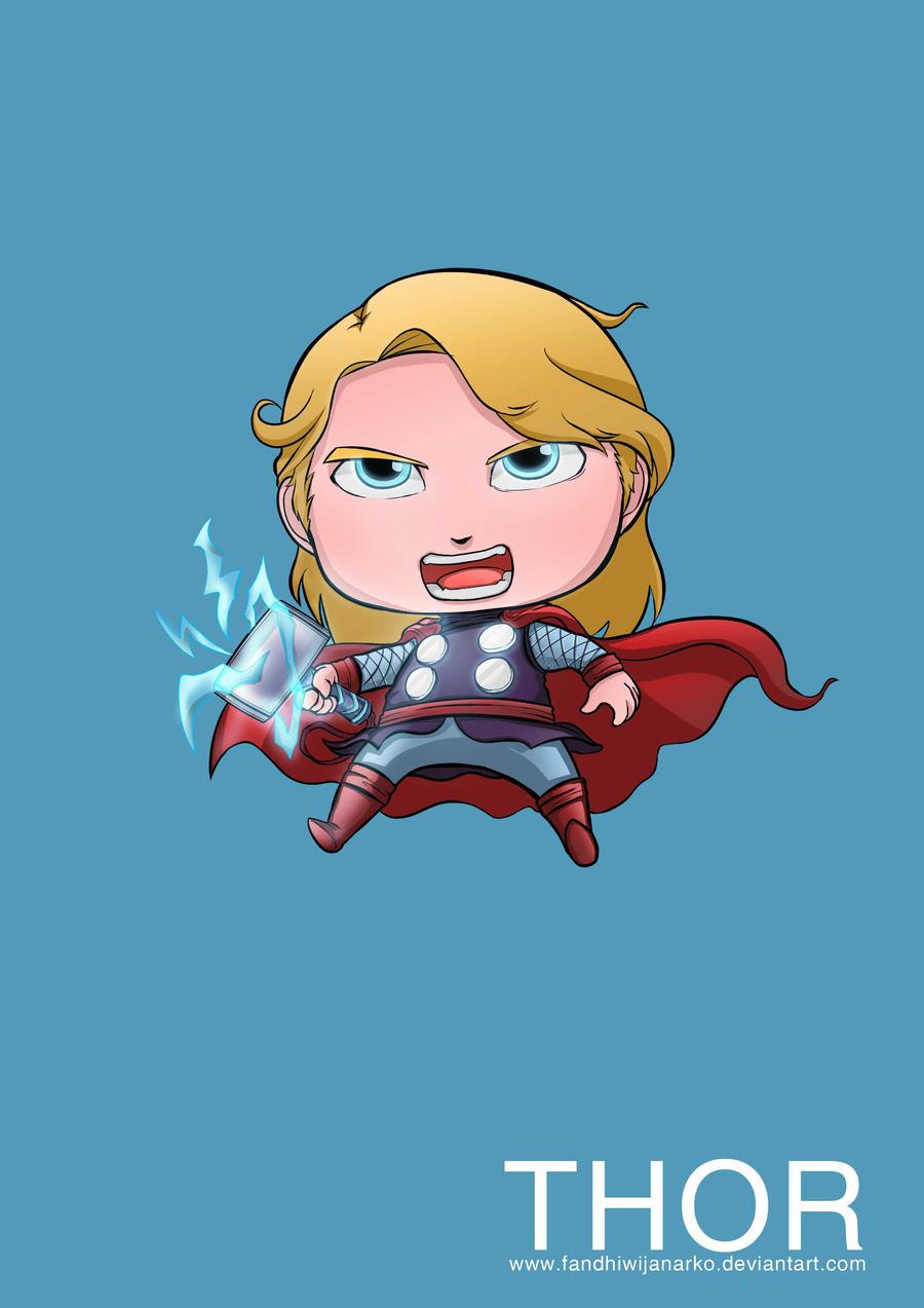 Thor Avengers by Gaviniko on deviantART