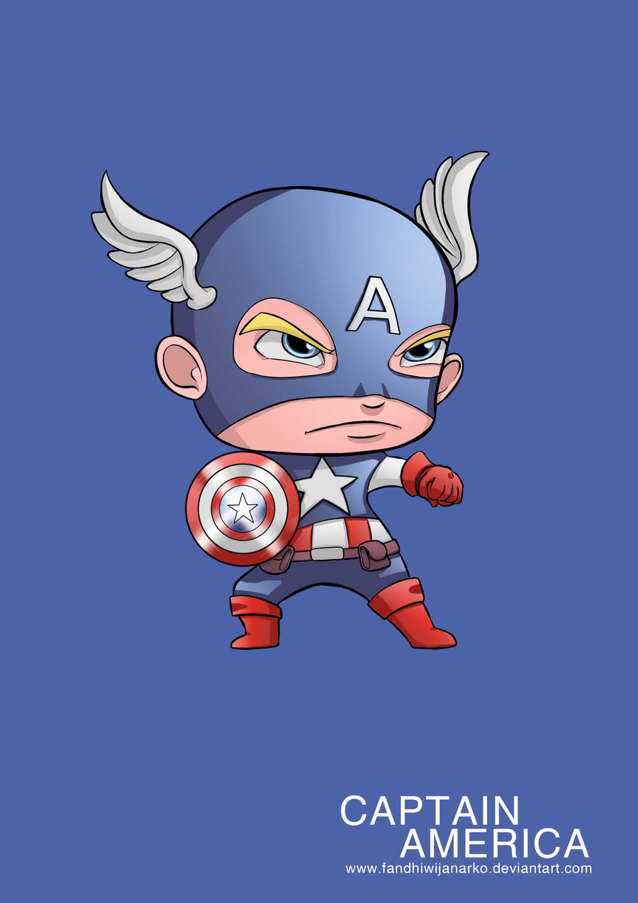 Beautiful Wallpaper Captain America Baby - captain_america_avengers_by_fandhiwijanarko-d53jjd8  Perfect Image Reference_827153.jpg