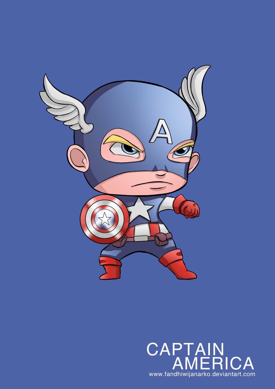 Beautiful Wallpaper Captain America Baby - captain_america_avengers_by_fandhiwijanarko-d53jjd8  Perfect Image Reference_827153.jpg