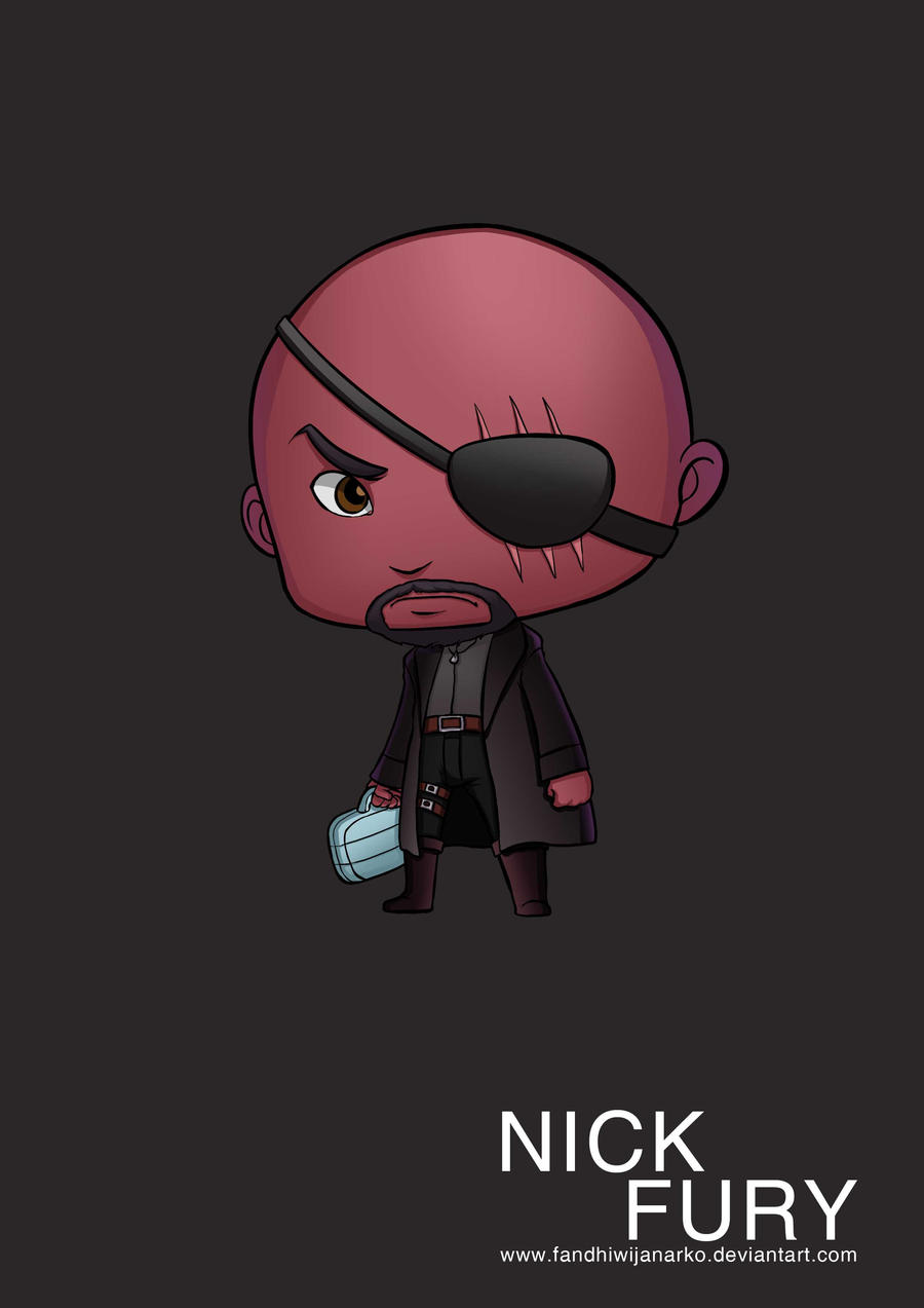 Nick Fury Avengers by ...