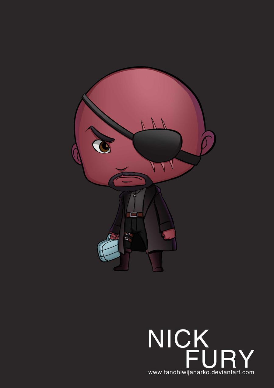 Nick Fury Avengers by Gaviniko on DeviantArt