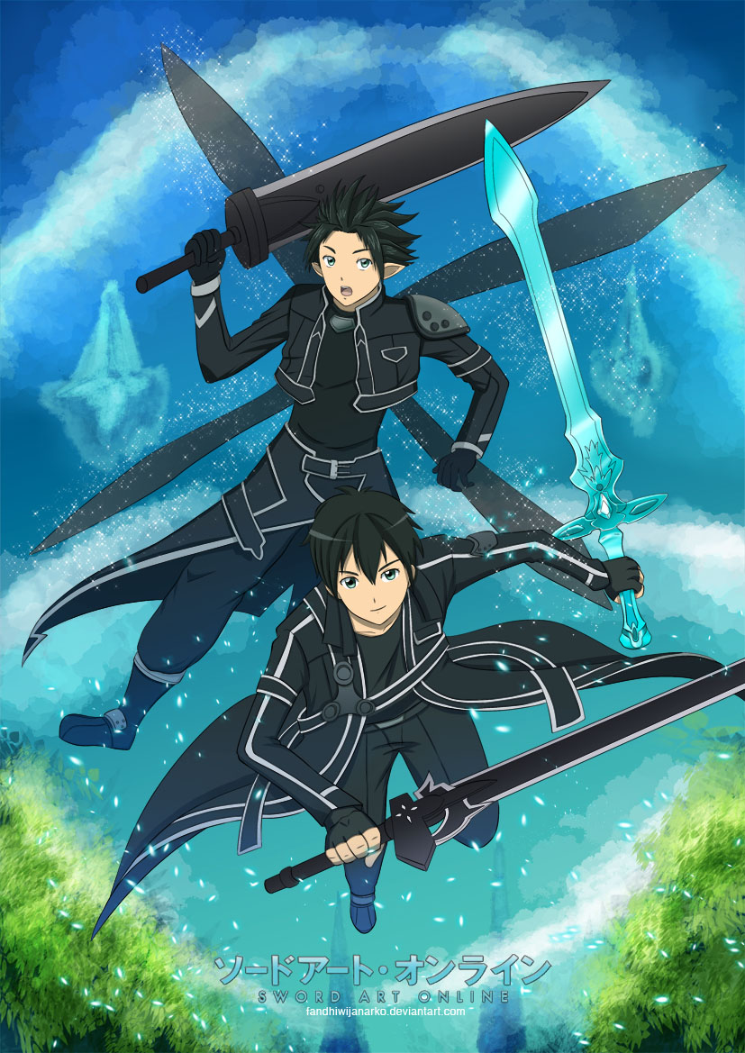 Kirito Sword Art Online Dual Swords