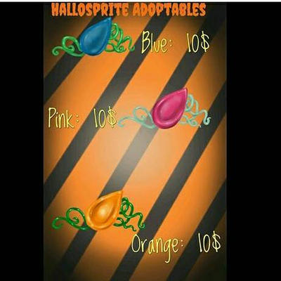 Hallosprite adoptables by JohnnyMorphine