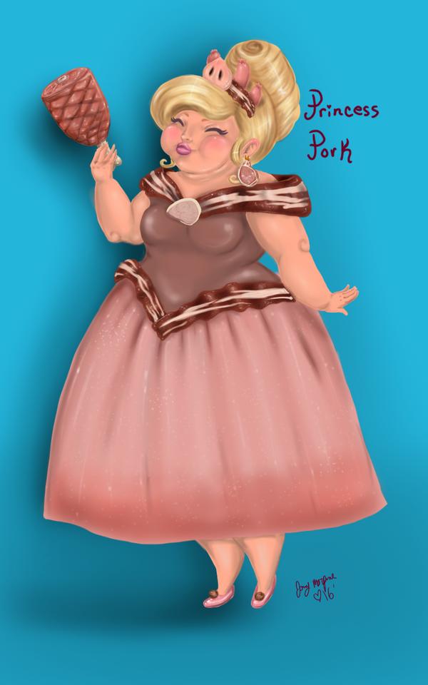 Princess Pork  by JohnnyMorphine