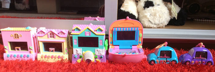 My Pixel Chix toy collection