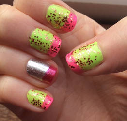 Funky 2018 Manicure 4 by TotallyDeviantLisa