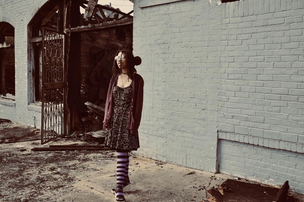 Standing amongst the ashes by eriko-neko