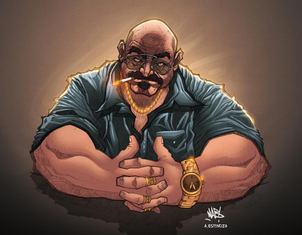 Mafia boss by Kperfect