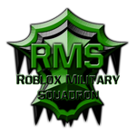 .:Roblox Military Squadron:. Logo