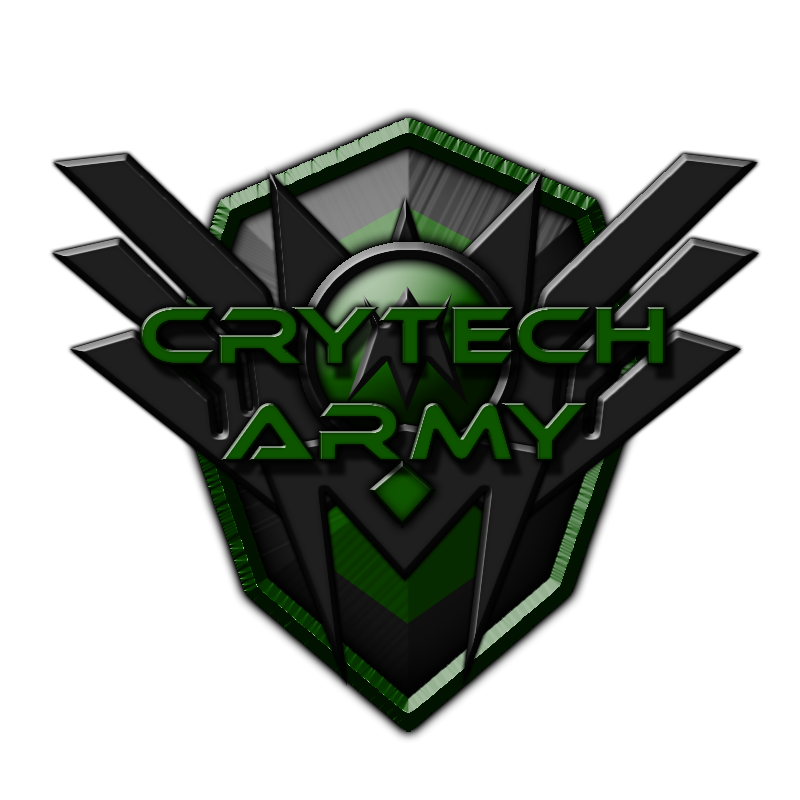 elite graphic design crytech army logo by questlog on