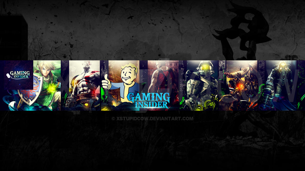 Channel Art 2 Preview Gaming Insider By Xstupidcow On Deviantart