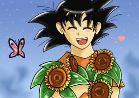 Flower for you :colour: by dbzfannie