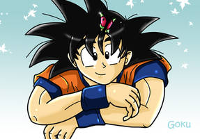 Goku: by dbzfannie