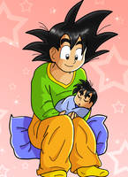 Love You My Son by dbzfannie