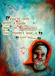 Robin Williams Poster by linziexdiane