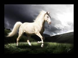 the albino by venomxbaby