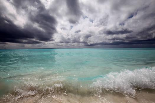 stormy beach stock 1 by venomxbaby