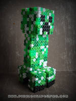 3D Creeper from Minecraft by PixelSculptures