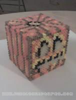 3D Minecraft Jack o' Lantern by PixelSculptures