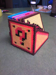 Mario Coaster Set Collapsed by PixelSculptures