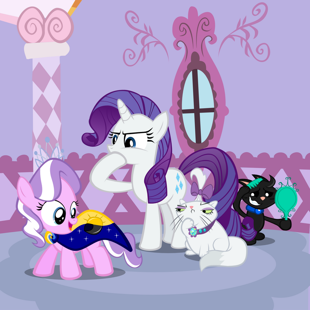 watch fim hd youtube diamond pony with and show rarity mlp dog dealing the a dogs