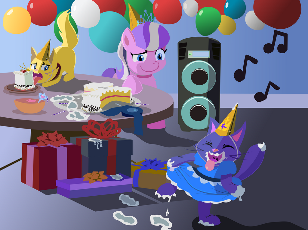 Birthday 4 Dazzle by MagerBlutooth