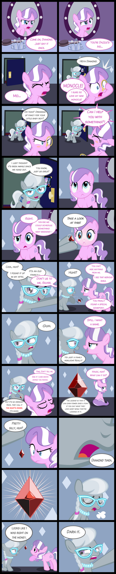 Diamond and Dazzle: Desire by MagerBlutooth