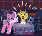 Diamond and Dazzle: 2019 by MagerBlutooth
