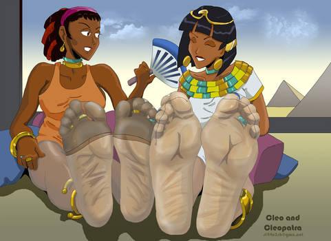 Cleopatra and Cleo - sl44n3sh