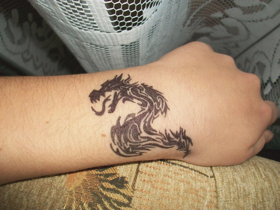 dragon tattoo.. or not...