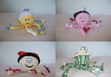 cute baby toys by croatian-artist-girl