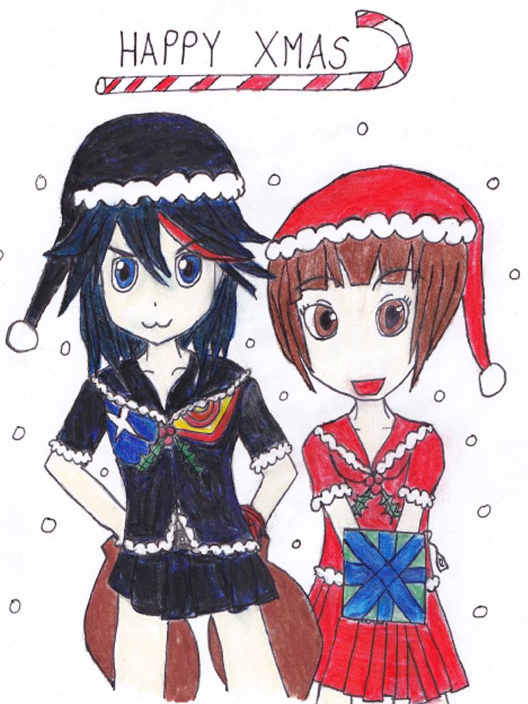 Christmas-Card--Kill-La-Kil by BenLeslie5 on DeviantArt