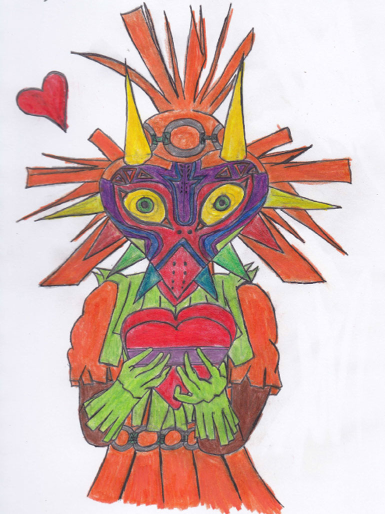 Will you be my Majora Valentines? by BenLeslie5