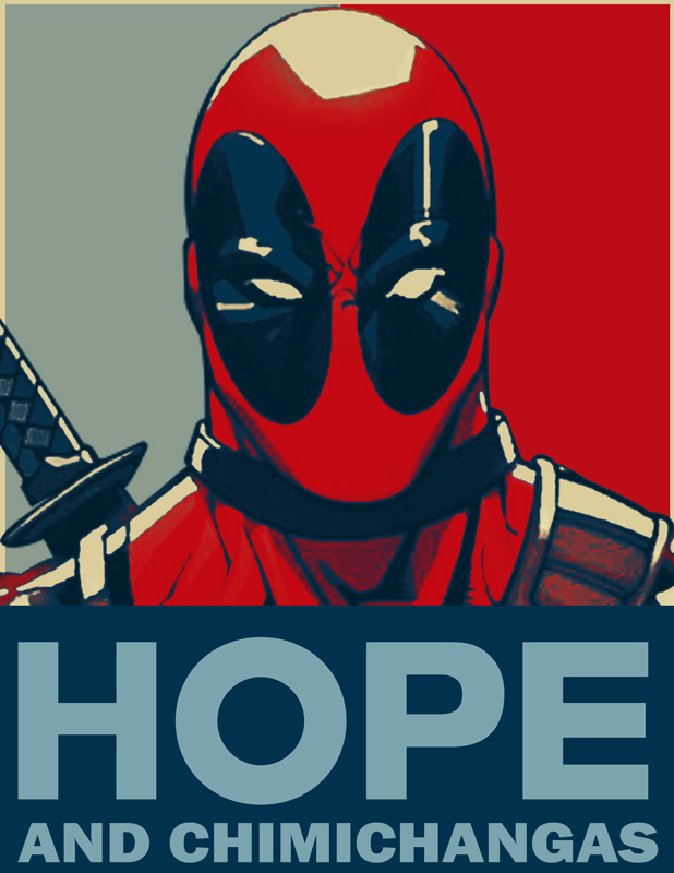 Man Cave Vote : Deadpool for president by icdrag on deviantart