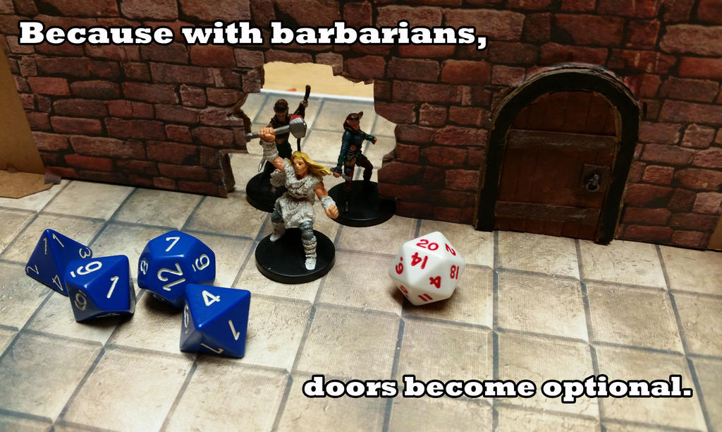 Dungeons And Dragons Barbarian Meme By Icdrag2002 On