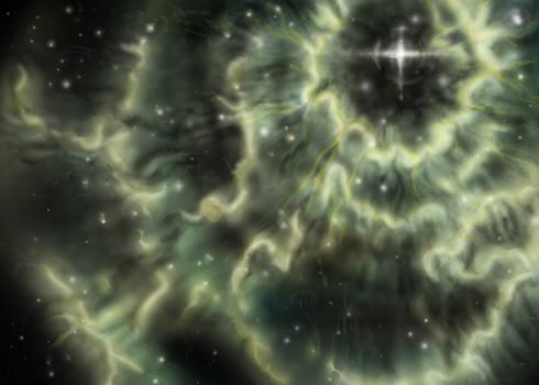 Starburst nebula for MRG