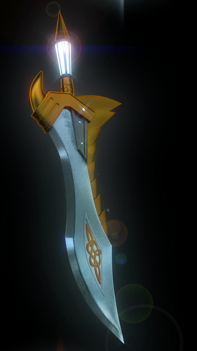 Shadow's sword by f0xii on DeviantArt