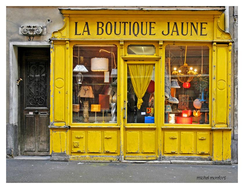Boutique jaune by mimomon