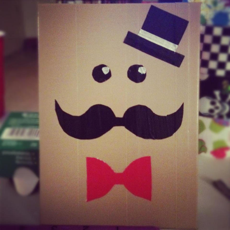 Mustache Man By GothianaVampet