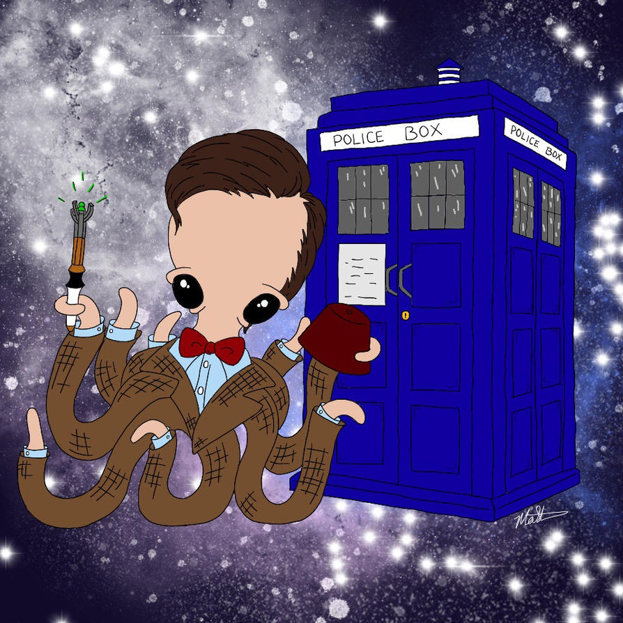 Octo Doctor Who by GothianaVampet